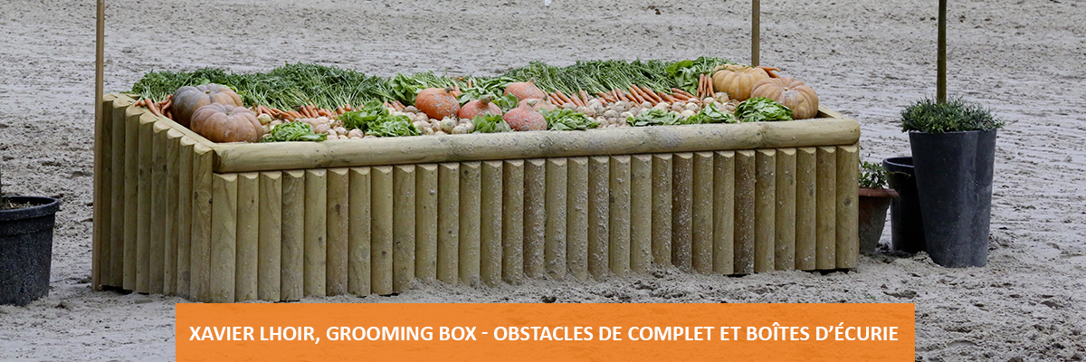 Grooming Box - Creating cross country fences, bandages boxes and stable stack in Belgium,Genappe,Brabant,Belgium,France,United Kingdom,England, Netherlands,Germany,Europe